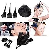SWEET PEA Salon Hair Coloring Dyeing Kit Brush Comb Bowl Hair Tint Mixing