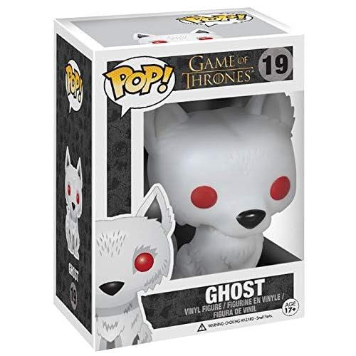 Funko FK3876 Pop! TV: Juego de Tronos- Ghost Fantasma 2