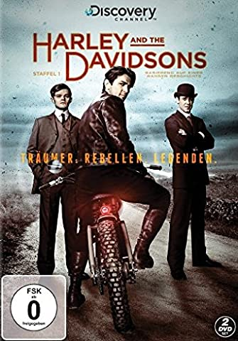Harley and the Davidsons [2 DVDs]
