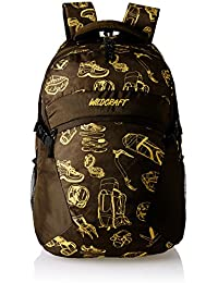 Wildcraft Stroll EQ Polyester Brown Casual Backpack(8903338018711)