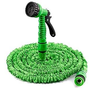 AutoFu erweiterbare Wasserschläuche-Magic Hose mit Spray für den Garten mit Anti-Leck flexibel, leicht, einfache Aufbewahrung mit Schlauch Rohr