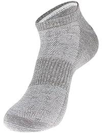 EOZY Lot 2 Paires Chaussettes En Lin Coton Sock Sport Confortable Respirante Homme Mixte