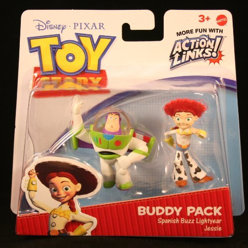SPANISH BUZZ LIGHTYEAR & JESSIE Toy Story 3 Buddy Pack DISNEY / PIXAR Mini Figures * 2 Pack *  available at amazon for Rs.2751