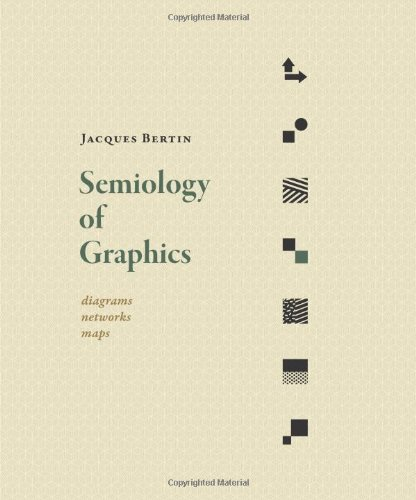 Semiology of Graphics: Diagrams, Networks, Maps por Jacques Bertin