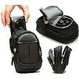 Navitech housse étui noir pour appareil photo numérique Canon PowerShot SX720 HS