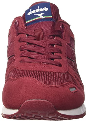 Diadora Titan II, Chaussures de Gymnastique Homme Rouge (Tibetan Red/estate Blue)