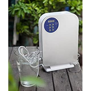 Emperor of Gadgets Ozone Generator for Water and Air Purification - O3 Ozone Sanitizer Sterilizer with Digital Timer and Remote for Vegetables and Fruits, Purifying Water