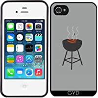 Custodia in silicone per Iphone 4/4S - Barbecue Con Salsicce by ilovecotton
