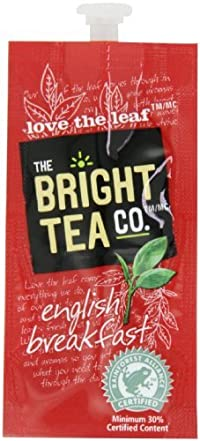 FLAVIA Tea, English Breakfast, 20-Count Fresh Packs (Pack of 5)