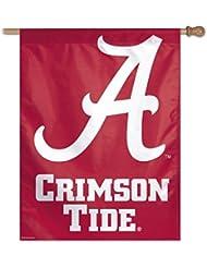 NCAA Alabama Crimson Tide 69x 94cm (68,6x 94cm) Drapeau verticale par Wincraft Tapis Motif