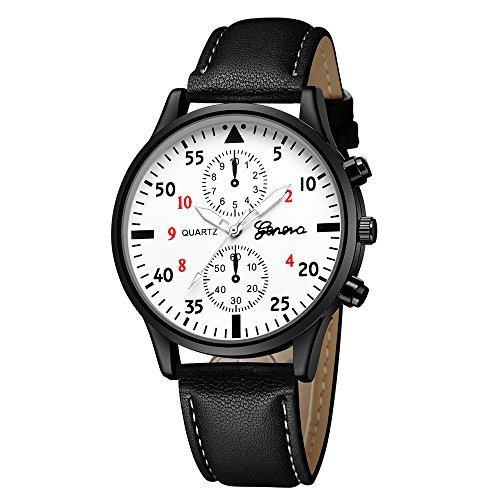 JiaMeng Relojes Pulsera Hombres, Reloj del Cuarzo de la aleación Militar de Cuero de los Hombres de la Moda Reloj