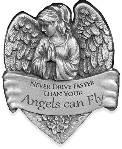 Angelstar 15731Metall Visier Clip, 2-1/2, Never Drive Schneller als Ihr Engel fliegen kann