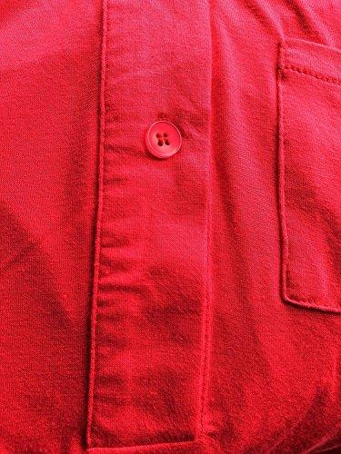 Eliacher Arbeiten Sie einfache Ärmellos Bluse 6640 Rot