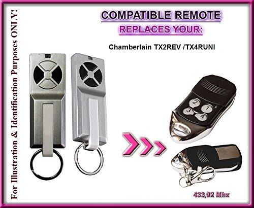 Zugangskontrolle Gerade Für Chamberlain Tx2rev/chamberlain Tx4runi Kompatibel Fernbedienung Feine Verarbeitung