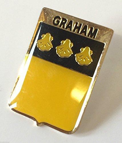 Écosse famille CLAN nom Graham écusson insigne de goupille de revers