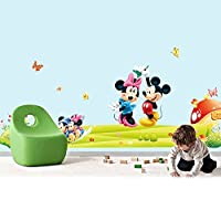 Wall Stickers for Kids Room Mickey Mouse Stickers Mickey Decal on Wall for Kids Home Decor