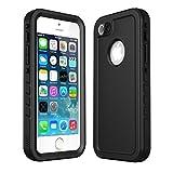 iThrough Coque iPhone 5S/Se Imperméable, iPhone 5S Case Housse Etui Etanche...