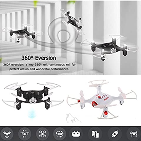 Cewaal Mini Quadcopter Helicopter Aircraft Drone Gyro Télécommande HD Pixel