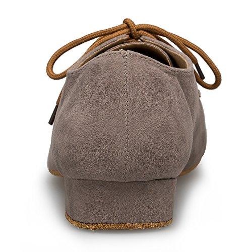 Miyoopark ,  Herren Tanzschuhe , Braun - Brown-2.5cm heel - Größe: 44 - 3