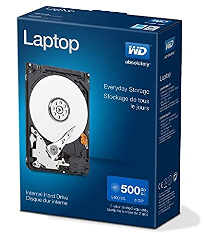 WD Blue 500GB Laptop Hard Disk Drive - 5400 RPM