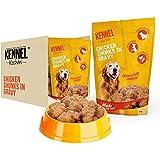 Kennel Kitchen Chicken Chunks in Gravy Dog Food, 100 g (Pack of 30)