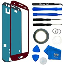 MMOBIEL Kit de Reemplazo de Pantalla Táctil para Samsung Galaxy S3 i9300 i9305 / S3 Neo i9301 Series (Rojo) Incl Kit de Herramientas / Pinzas / Cinta adhesiva / Limpiador / Alambre / Manual