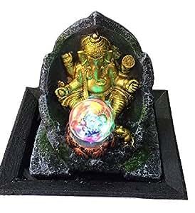 Petrichor Ganesha Water Indoor Fountain - Home Decor