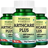 Morpheme Remedies Arthcare Plus 500mg Supplement (60 Capsules) - Pack Of 3