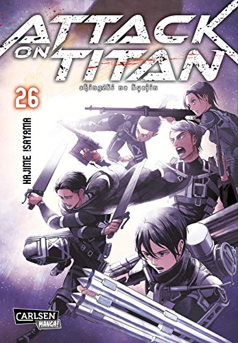 Attack on Titan 26 (Und Levi Eren)