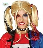 Rudy Peluca Mujer Adulta Harley Quinn, Color Rubia, 4389