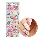 ThumbsUp Nägel – Garden Rose Nail Wraps