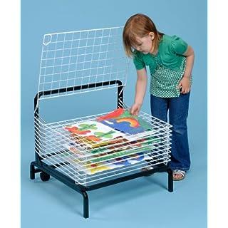 10 Shelf Paint Drying Rack / Childrens Paint Dryer- A1166