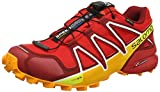 Salomon Herren Speedcross 4 GTX Trailrunning-Schuhe,rot (fiery red/red dalhia/bright marigol), 47 1/3 EU