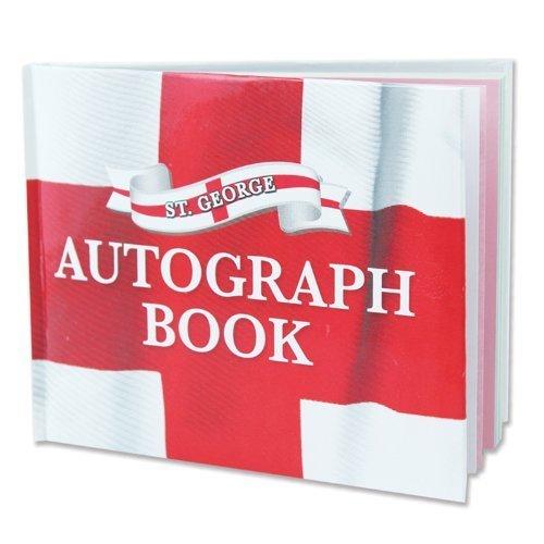 ST George 's Autograph Book-Seiten Schule Musik Fußball Großbritannien UK Sport Event Geschenk UK British