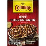 Colman's - Mezcla para bœuf bourguignon (estofado de ternera) - 40 g - Pack de 8 unidades
