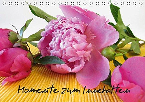 Momente zum Innehalten (Tischkalender 2019 DIN A5 quer): Ein kleines Wellness-Programm mit duftenden Blüten für zu Hause (Monatskalender, 14 Seiten ) (CALVENDO Gesundheit)