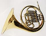 Cherrystone 0754235505013 French Horn Bb Waldhorn mit Stopfventil inklusive Koffer