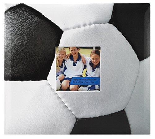 Und Album Herr Foto Frau (MCS MBI 10Seite, 8von 8–Zoll, Scrapbook, insgesamt 9,6x 8,5Scrapbook mit Foto Öffnung vorne Fußball Fußball)