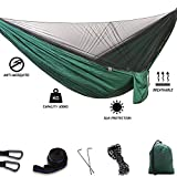 WCBDUT Portable Ultra-Light Travel Camping Hammock with Mosquito Net - 2 Person Outdoor