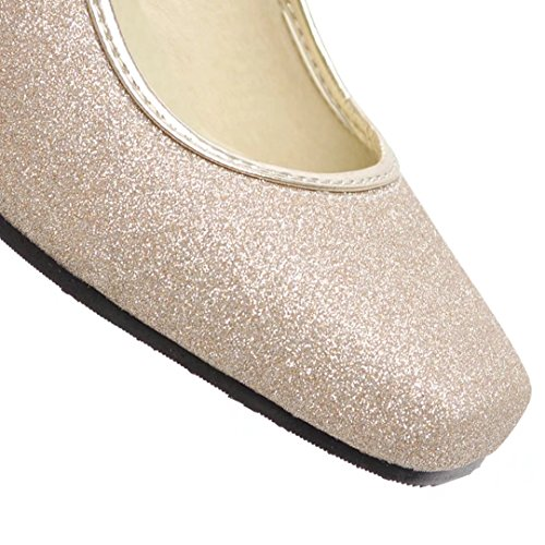 AIYOUMEI Low-Top Donna Gold