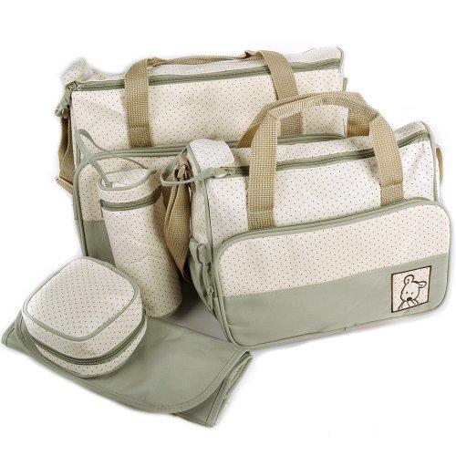 5tlg Babytasche Set Pflegetasche Tragetasche Wickeltasche Windeltasche Kinder Baby