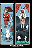 Notebook: Haunted Anime Mansion , Journal for Writing, College Ruled Size 6' x 9', 110 Pages
