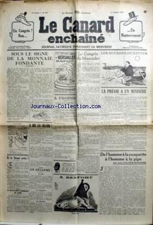 CANARD ENCHAINE (LE) [No 957] du 31/10/1...