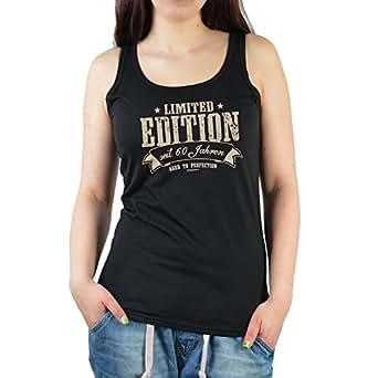 cooles damen girlie t shirt mit super motiv zum 60 geburtstag limited edition seit 60 jahren. Black Bedroom Furniture Sets. Home Design Ideas