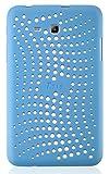 JAMMYLIZARD | Schutzhülle für [ Samsung Galaxy Tab 3 Lite 7.0 / Tab 3 V ] aus mattem Silikon, BLAU