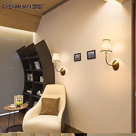 FEI&S stile moderno piccola lampada da parete lampada da parete creativa al posto letto balcone bagno scale luci luci Specchio specchio da parete lampada frontale #11A