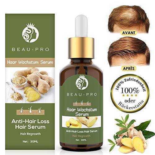Haarwachstum Serum Beschleunigen, Haarserum, Hair Serum für haarwachstum, Anti Haarausfall für dünnes Haar, Verdickung & Nachwachsen Behandlung gegen Haarausfall Haarwurzeln stärken -