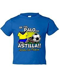 Camiseta niño De tal palo tal astilla Las Palmas fútbol