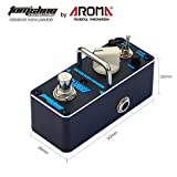 Overdrive effect pedal BLUESY Classic blues style based on 70\'s Marshall blues breaker Two modes boost and normal guitar pedal by Aroma Music brand Tom\'sline Engineering