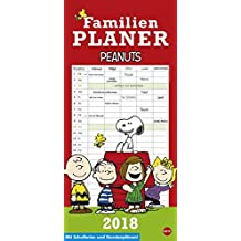 Peanuts Familienplaner - Kalender 2018